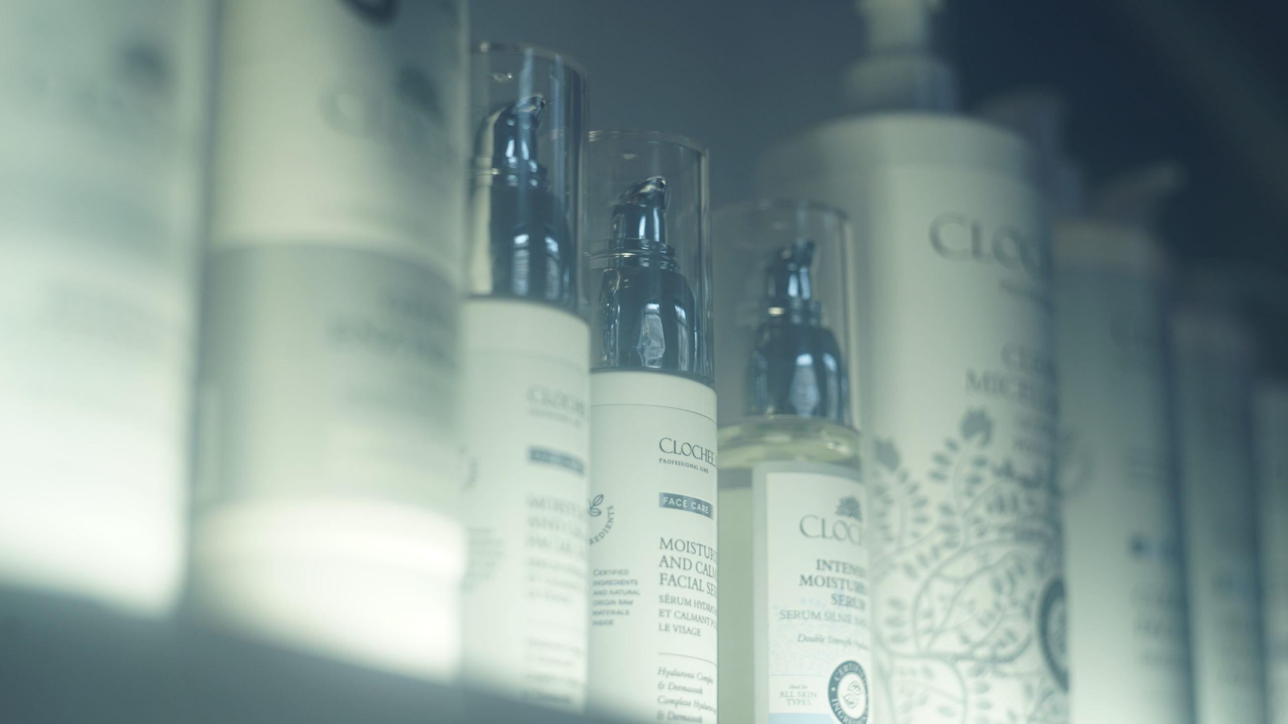 kosmetyki do twarzy Clochee